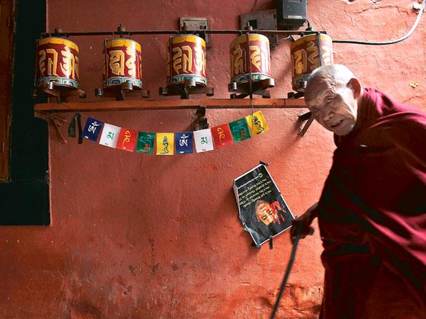 Tiibeti munk Majnu Ka Tillas. Foto: internet