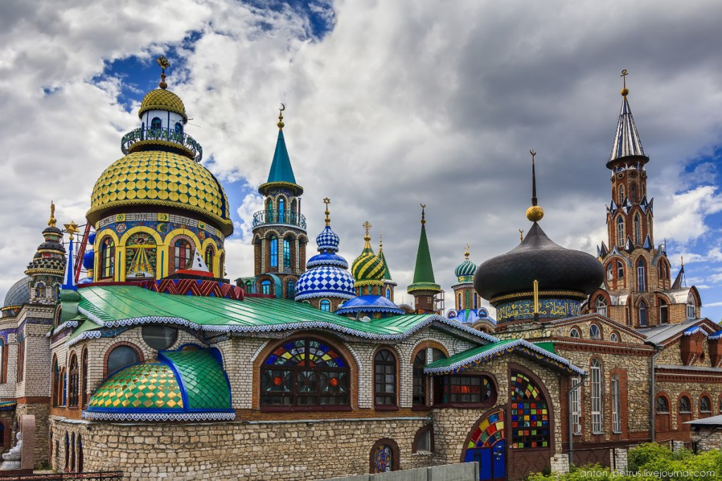 Kõikide uskude tempel Kaasanis: Foto: Anton Petrus