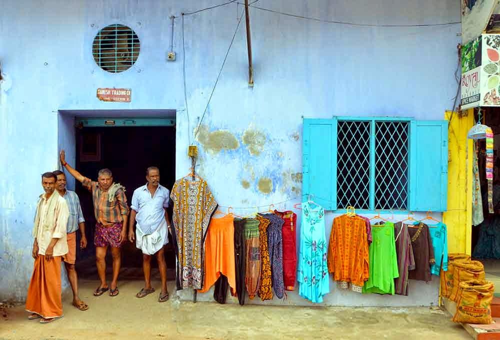 Fort Kochi vanalinna värvid. Foto: erakogu
